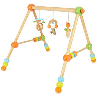 wooden gym adjustable in height