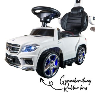 Slider Car 4in1 Mercedes-Benz GL63 AMG weiss 4in1 MP3 6V