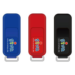 Siva USB Stick 8GB blau