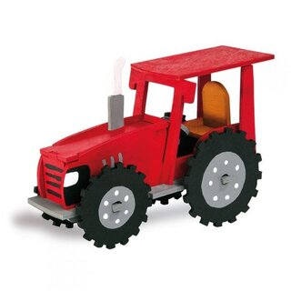 Wooden kits Tractor