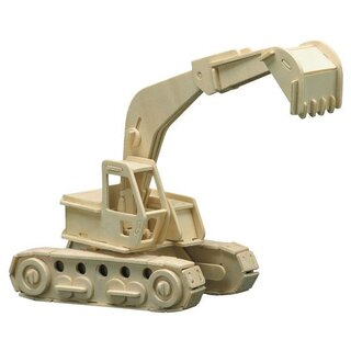 Wooden kits Power shovel