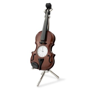 Siva Clock Violin brown