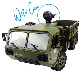 U.S Military Truck 1:12 6WD 2.4 GHz RTR