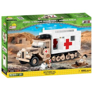 Ford V3000S Maultier Ambulance - 535 Pcs