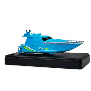 Mini Racing Yacht 2.4 GHz blau
