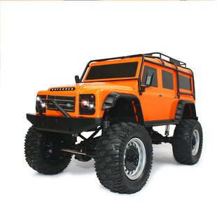 Land Rover Defender 90 1:8 4WD 2.4 GHz orange